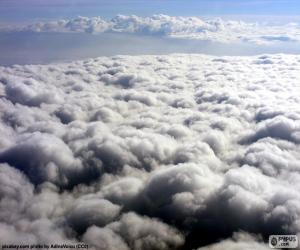 puzzel De wolken