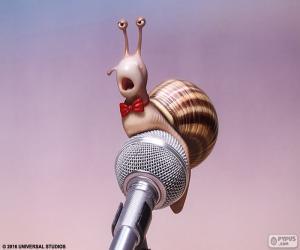 puzzel De zanger-slak