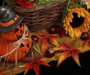 puzzel Decoratie voor Halloween