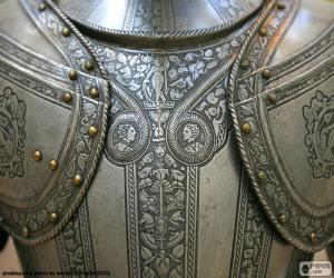 puzzel Deel van armor