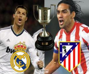 puzzel Definitieve Cup van koning 2012-13, Real Madrid - Atlético Madrid