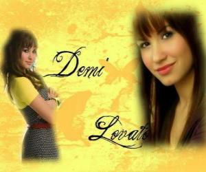 puzzel Demi Lovato, Camp Rock