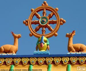 puzzel Dharma wielen