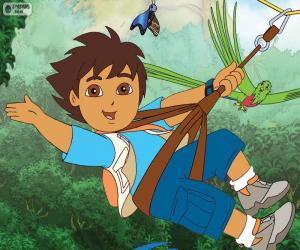 puzzel Diego en de tokkelbaan