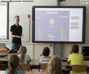 puzzel Digitaal schoolbord