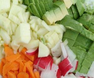 puzzel Diverse groenten