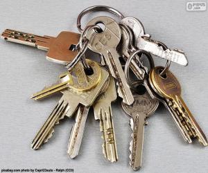 puzzel Diverse sleutels