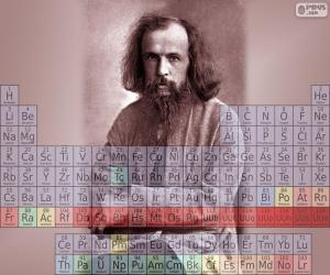 puzzel Dmitri Mendelejev