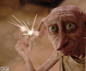puzzel Dobby, een huis-elf van Harry Potter