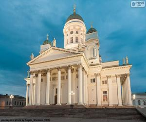 puzzel Domkerk van Helsinki, Finland