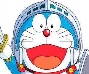 puzzel Doraemon in een van zijn avonturen