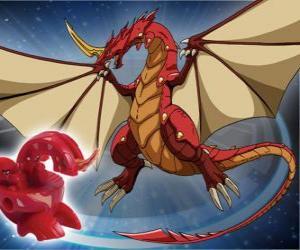 puzzel Dragonoid is een van de meest krachtige soorten in Vestroia