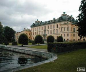 puzzel Drottningholm paleis, Drottningholm, Zweden