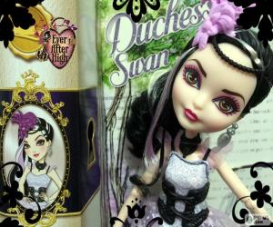 puzzel Duchess Swan Ever After High