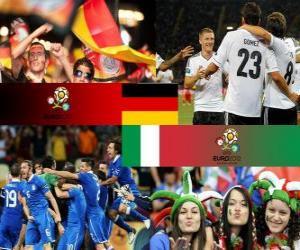 puzzel Duitsland - Italië, halve finales Euro 2012