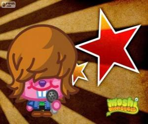 puzzel Dustbin Beaver van Moshi Monsters