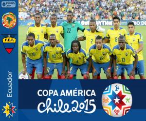 puzzel Ecuador Copa America 2015