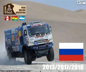 puzzel Eduard Nikolaïev, Dakar 2018