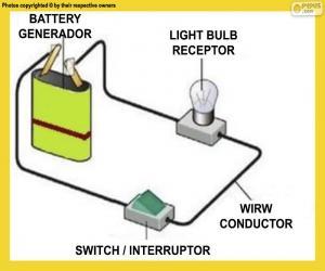 puzzel Een eenvoudig elektrisch circuit