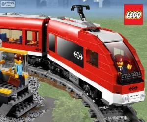 puzzel Een Lego-trein