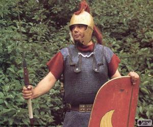 puzzel Een Romeinse soldaat