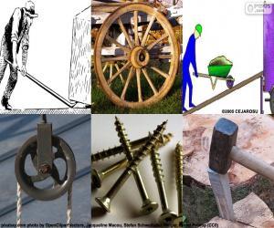 puzzel Eenvoudige machines