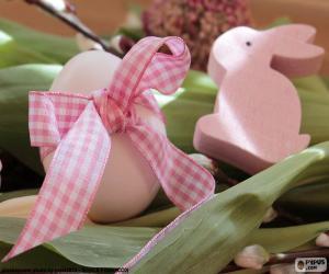 puzzel Eieren en de paashaas