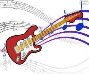 puzzel Elektrische gitaar