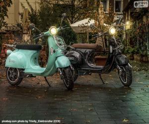puzzel Elektrische scooters