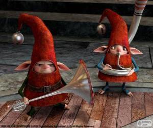 puzzel Elfen. De Vijf Legendes