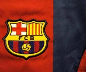 puzzel Embleem van FC Barcelona