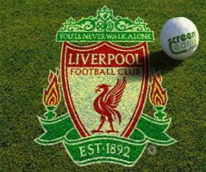 puzzel Embleem van Liverpool FC