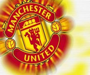 puzzel Embleem van Manchester United FC