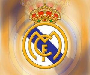 puzzel Embleem van Real Madrid