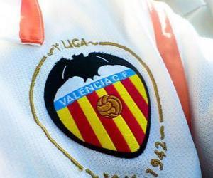 puzzel Embleem van Valencia CF