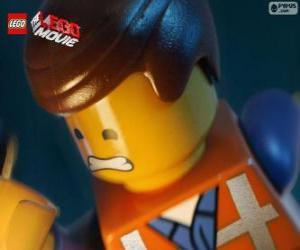puzzel Emmet uit de Lego film
