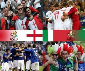 puzzel Engeland - Italië, kwartfinales, Euro 2012