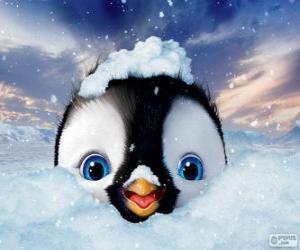 puzzel Erick is de hoofdpersoon van, Happy Feet twee