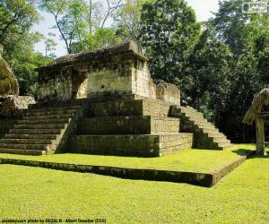 puzzel Est A-3, Seibal, Guatemala