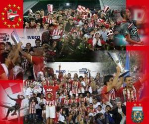 puzzel Estudiantes de La Plata - Apertura Championship 2010 in Argentinië