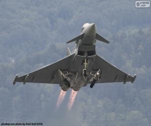 puzzel Eurofighter Typhoon