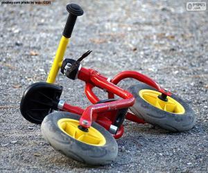 puzzel Evenwicht fiets