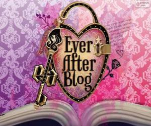 puzzel Ever After High logo