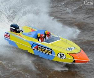 puzzel F1 Powerboat