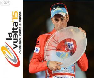 puzzel Fabio Aru Ronde van Spanje 2015