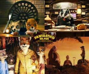 puzzel Fantastic Mr. Fox