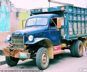 puzzel Fargo vrachtwagen, 1947