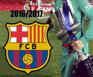puzzel FC Barcelona, Copa del Rey 2016-17