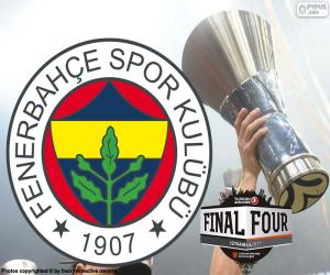 puzzel Fenerbahçe, 2017 Euroleague kampioen