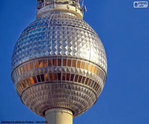 puzzel Fernsehturm, Duitsland